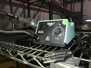 Weller Wes51 Soldering Station With Pes51 Iron And Stand