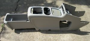 2011 2017 Chrysler Town And Country Dodge Caravan Center Super Console Shale