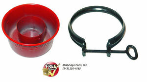 Oil Bath Air Cleaner Cup Clamp Ih Farmall H Hv Super H Hv 404 424 300 340 350