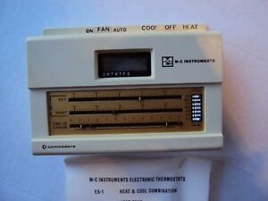 M c Instruments Commodore Cool Heat Thermostat