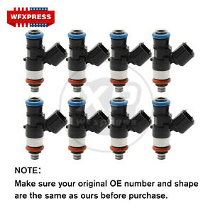 8x New 42lb Fuel Injectors For Bosch 06 15 Chevrolet Corvette Ls3 L99 Camaro Ss