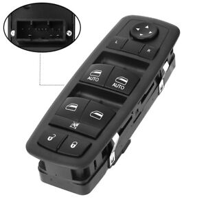 Front Left Master Window Switch For 2011 2017 Dodge Charger Chrysler 68231805aa