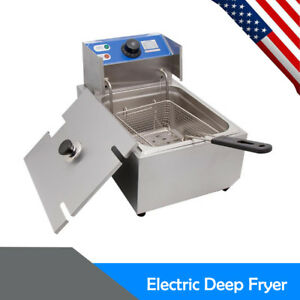 2500w Commercial Electric Fry 5 5l Stainless Electric Basket Fry