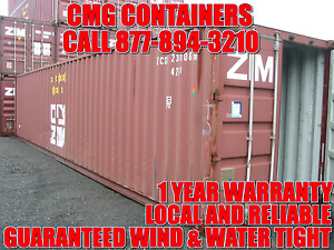 40 Ft Steel Cargo Shipping Storage Container Detroit Mi Michigan Containers