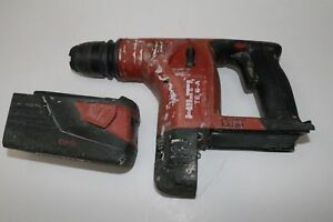 Hilti Te 6 a Cordless Rotary Hammer Drill Charger 2x Batteries Included