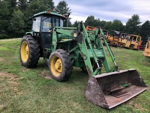 John Deere 3155 Tractor With Loader