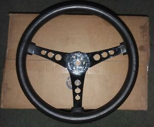 Superior Performance Products The 500 Steering Wheel Black Foam Rubber 14 5