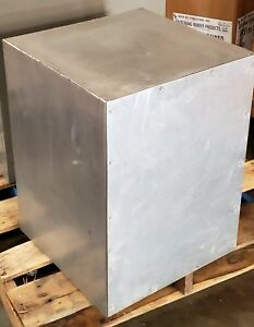 Custom Fabricated Metal Enclosure Box 24 X 18 X 18