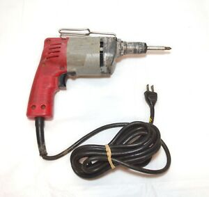 Milwaukee 6758 1 5 Amp Drywall Screw Shooter driver gun Corded Electric 13776 2