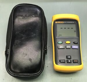 Fluke 51 Ii Digital Thermometer With Carrying Case