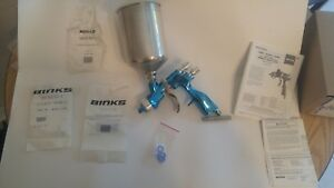 Binks Trophy Gravity Hvlp Spray Gun Like New Extremely Clean Like New
