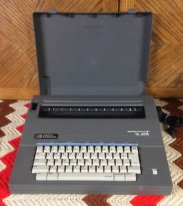 Smith Corona Sl600 Electric Typewriter With Spell right Dictionary Correction