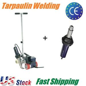 40mm Powerful Hot Air Plastic Welder For Thick Tarpaulin Banner Welding Roofing