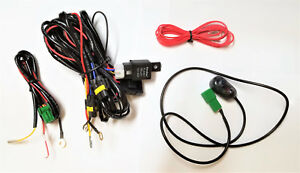 Fog Light Lamp Wiring Harness Kit Wire Relay For H10 Bulb With Universal Switch
