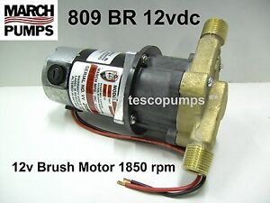 March 809 Br 12vdc Hot Water Pump 0809 0100 0200