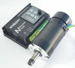 Cnc Spindle Motor Driver Kit With Lcd Control Panel Nvbdh Dc Brushless 400w 48v