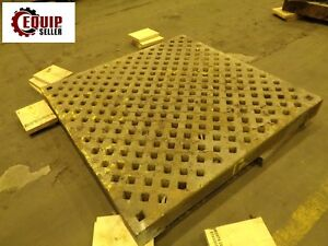 Acorn Welding Table Plates Cast Iron Steel 5ft X 5ft X 6in Thick