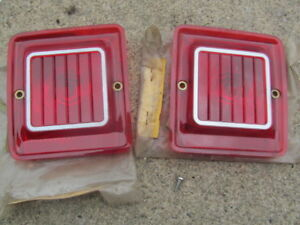 1966 67 68 Amc Rambler American Station Wagon Nos Tail Light Lenses