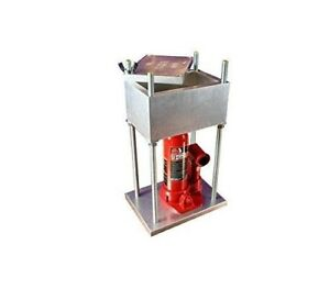 The Brick Rosin Heat Press By High Tech Presses With 4 Ton Hydraulic Cylinder