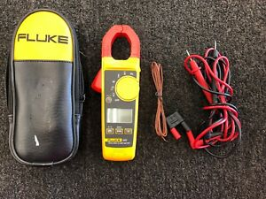 Fluke 325 True Rms Clamp Meter With Leads Soft Case