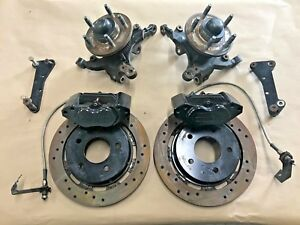 2011 2014 Ford Mustang Gt Aerospace Components Front Calipers Rotors Spindles
