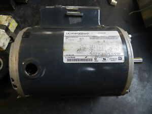 D2 Marathon Motors 5kc49pn0155a Air Compressor Motor 1 Hp 1725 Rpm 115 208 230