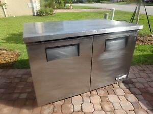True 48 Commercial Under Counter Refrigerator Tuc 48 Cooler Restaurant Bar