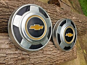 Chevy Pickup Truck Van Dog Dish Hubcaps 10 5 Pair