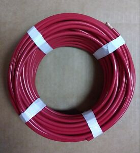 Thhn Red Stranted Wire 6 Awg 100 Ft
