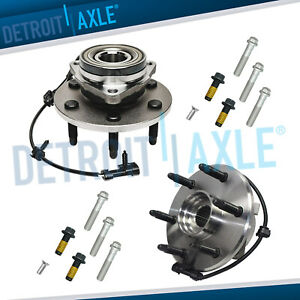 4wd Front Wheel Bearing Hub Bolts For 00 06 Chevy Silverado 1500 Tahoe Yukon