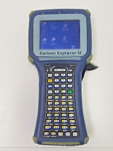 Carlson Explorer Ii Data Collector W Total Station Gps used