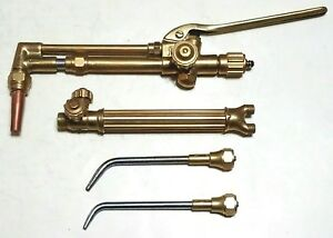 Victor Cutting Welding Torch Set 550 j Attachment J28 Handle Aviator Smith Meco