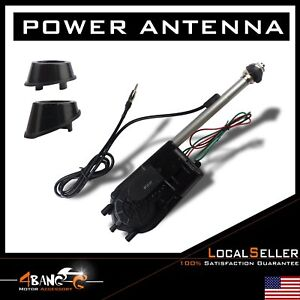 Car Vehicle Electric Power Antenna Am Fm Radio Mast Replacement 12v