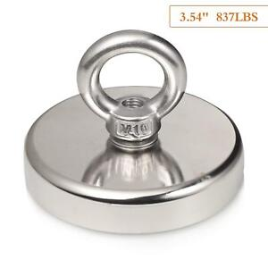 Wukong 837lbs 380kg Pulling Force Super Powerful N52 Round Neodymium Magnet