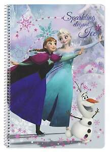The Ice Queen Notepad Block Notepad Spiral Notebook Booklet A4 Disney Frozen