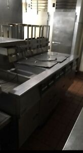 Pitco Gas Fryer With Dump Station