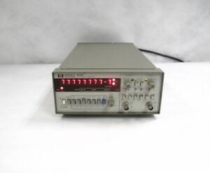 Hp Agilent 5316b Desktop Digital Dual Channel Universal Counter System Unit