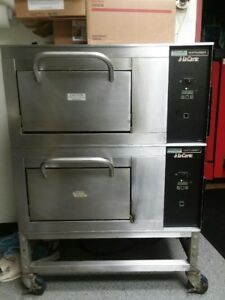 Lincoln 1901 000 d Double Stack Pizza Ovens 208v Single Phase