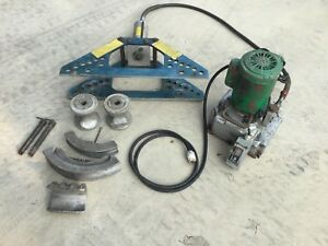 Greenlee 777 Pipe Bender With 940 Electric Hydraulic Pump