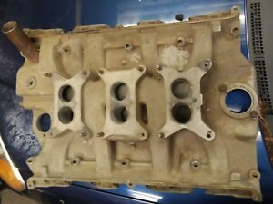 Ford 3x2 Tri Power Intake Manifold Fe 390 406 428 Original 1962 Galaxie