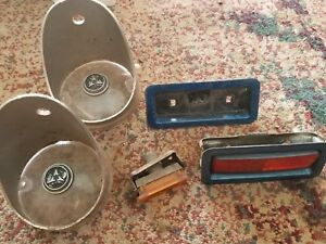 68 To 69 Dodge Charger Front Signal Lenses