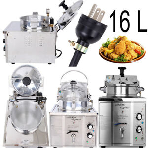 16l Stainless Steel Commercial Electric Multipurpose High Pressure Chicken Fryer