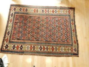 Antique Shirvan Caucasian Rug 3 11 X 5 1 Wool