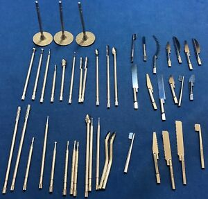 Orthopedic Burs Saw Blades Rasps Etc Lot Of 45