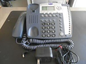 At t 974 Analog 4 line Business Speakerphone With Power Adapter