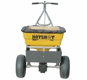 Meyer Products Hotshot 100hd Broadcast Spreader Stainless Steel 38190