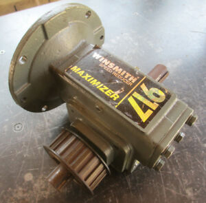 Winsmith 917mwn Motor Speed Reducer Gearbox 40 1 Ratio Transmission