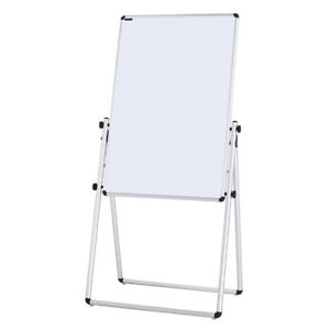 Whiteboard Magnetic Dry Erase Boards Folding On Easel Stand 36 24