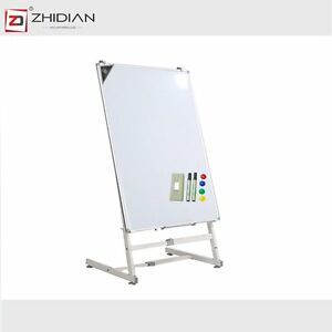 Zhidian 36 24 magnetic Stand Up Whiteboard Easel Style Dry Erase Boards