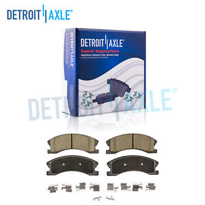 Front Ceramic Brake Pad For 1999 2000 2001 2002 2003 2004 Jeep Grand Cherokee